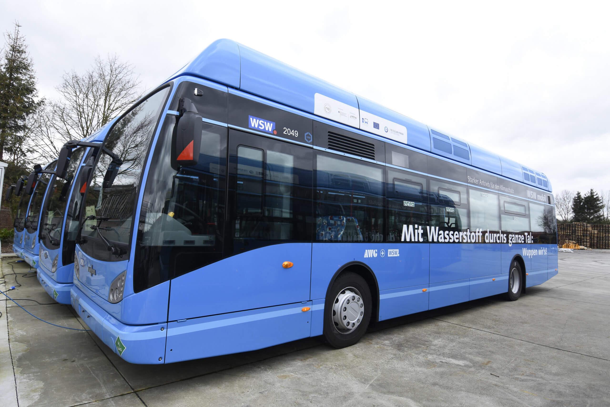 Van Hool darf Brennstoffzellenbusse für Frankreich liefern