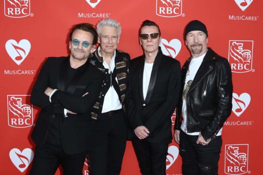 U2 concert powered by hydrogen