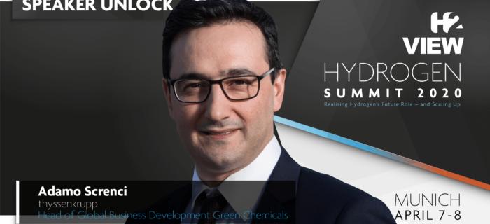 thyssenkrupp joins H2 View Hydrogen Summit