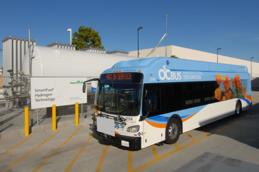 Air Products celebrates new hydrogen fuelling station for transit buses