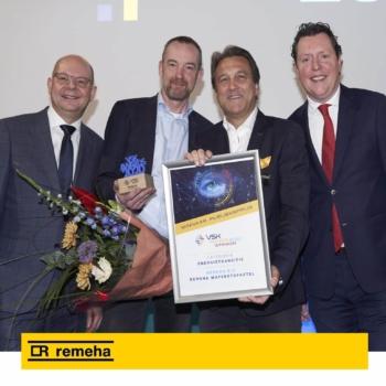 Hydrogen boiler wins award