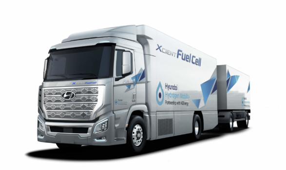 Faurecia to provide technology for 1,600 Hyundai Hydrogen Mobility trucks