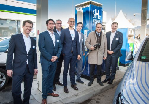 Germany's 82nd hydrogen station opens