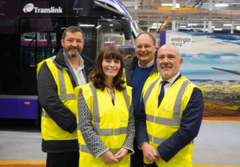 Ireland's first hydrogen buses to be deployed in Belfast