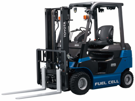 Hydrogen fuel cell forklifts