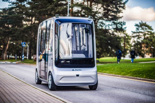 Hydrogen-powered self-driving car in development