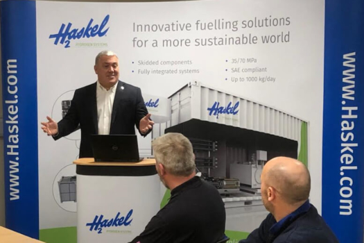 Haskel to expand hydrogen innovations
