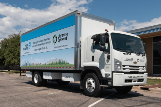 """World first"" fuel cell truck development"