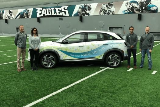 PDC Machines to bring hydrogen to Philadelphia Eagles