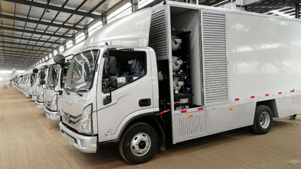 1,000 fuel cell electric heavy vehicles for cleaner port operations