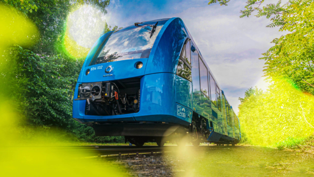 Alstom hydrogen train receives European Railway Award 2021