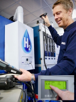Baxi calls on UK Gov to mandate hydrogen-ready boilers from 2025