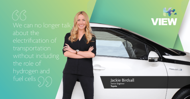 Jackie Birdsall: When people hear electric, they should think battery-electric and fuel cell