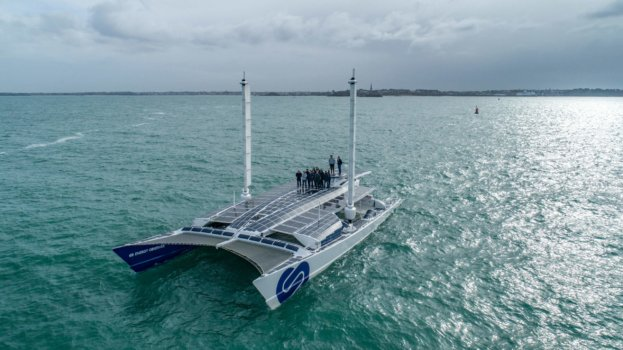Energy Observer sets sail on four-year voyage