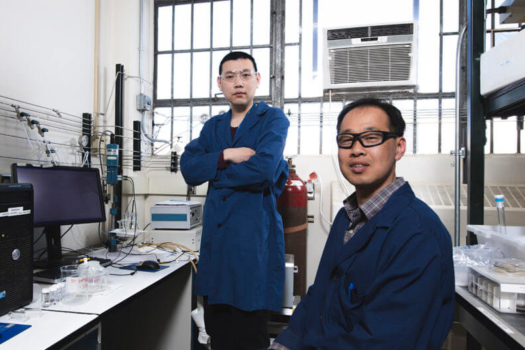 WSU discovers new way to produce hydrogen