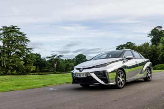 European Parliament tests Toyota Mirai
