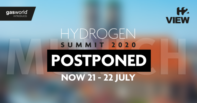 Postponement of Hydrogen Summit 2020