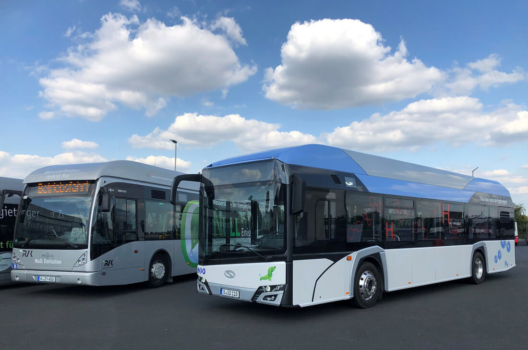 More hydrogen buses for Germany