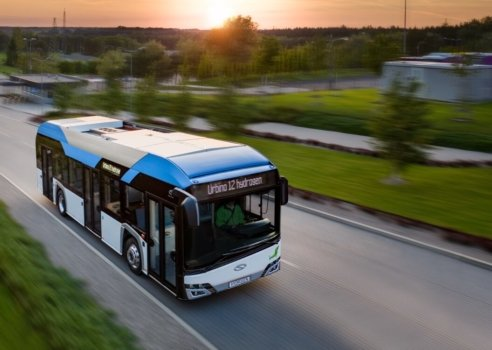 25 new hydrogen buses for Germany