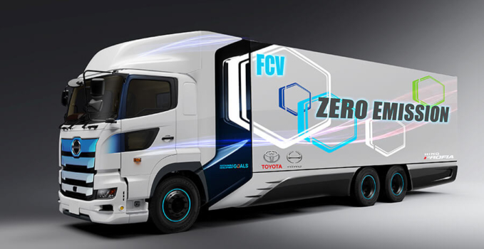 Toyota to develop fuel cell truck with Hino