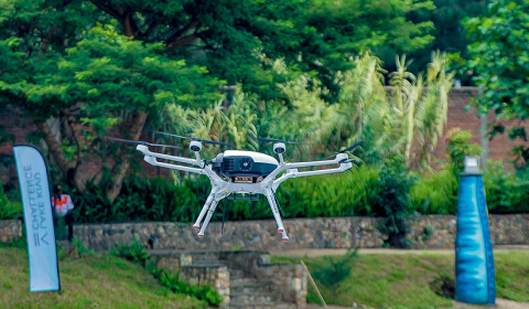 Doosan Mobility Innovation demonstrates power of hydrogen fuel cell drone