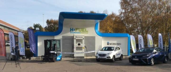 Hynion buys hydrogen station in Sweden