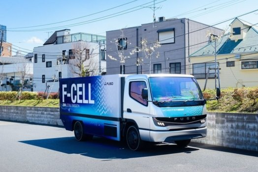 Mitsubishi Fusco to develop hydrogen trucks
