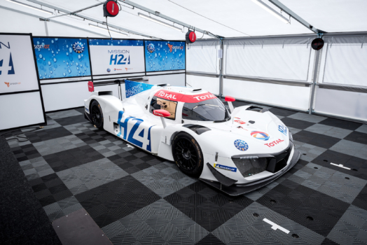 Total becomes a partner in hydrogen car project