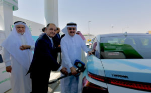 Saudi Arabia's first hydrogen station inaugurated