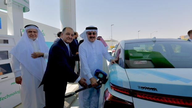 Saudi Arabia's first hydrogen station inaugurated