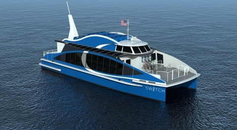 Hydrogen-powered ferry for San Francisco