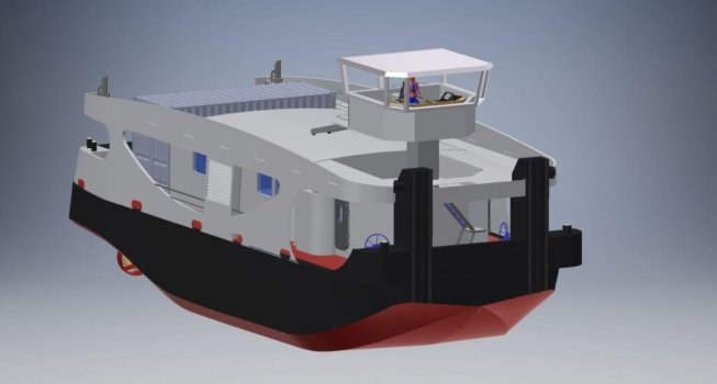 Flagships demonstrating commercial hydrogen fuel cell marine solutions
