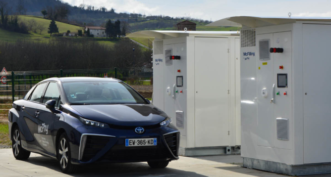 McPhy equips two projects with hydrogen technology