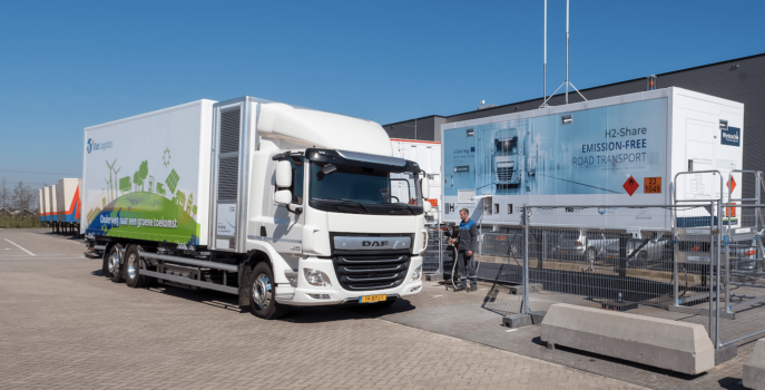 H2-Share's first hydrogen truck successfully tested by Breytner