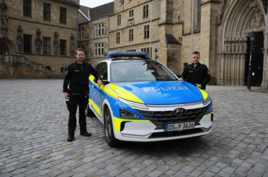 Osnabrück Police deploys fuel cell vehicle