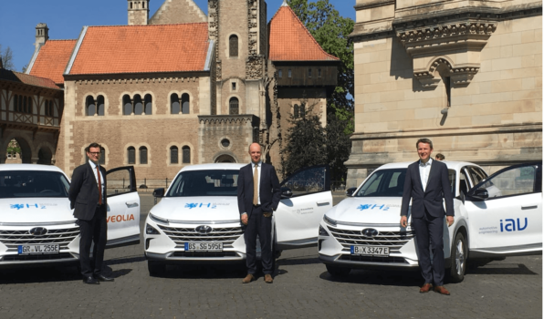 Veolia tests hydrogen vehicles