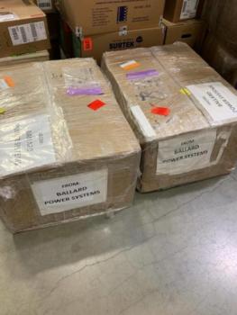 Ballard donates 10,000 medical face masks