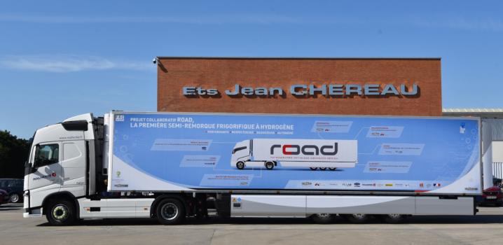 """World's first"" hydrogen refrigerated semi-trailer"