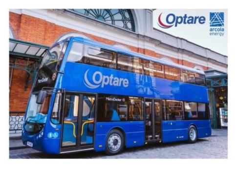 Arcola and Optare launch new hydrogen fuel cell bus