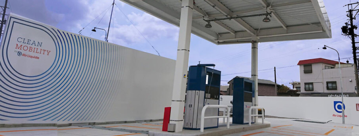 Air Liquide opens new hydrogen station in Japan