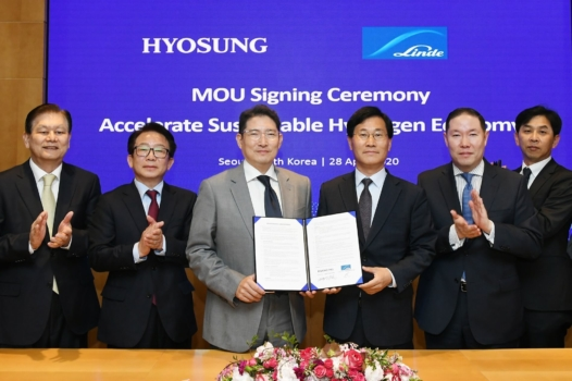 Hyosung-Linde JV to build world's single largest liquid hydrogen manufacturing facility