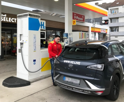 Germany's 83rd hydrogen station opens