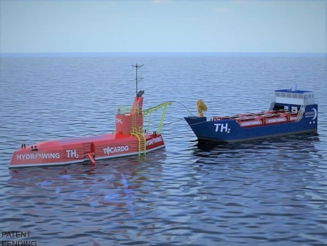 Tidal energy to hydrogen platform unveiled