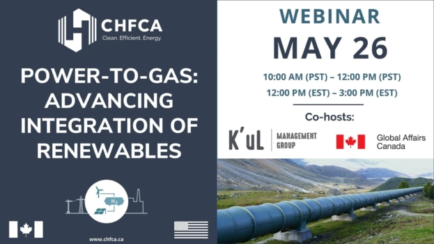 CHFCA to host power-to-gas webinar