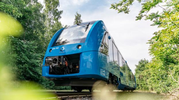 Alstom hydrogen trains complete trials