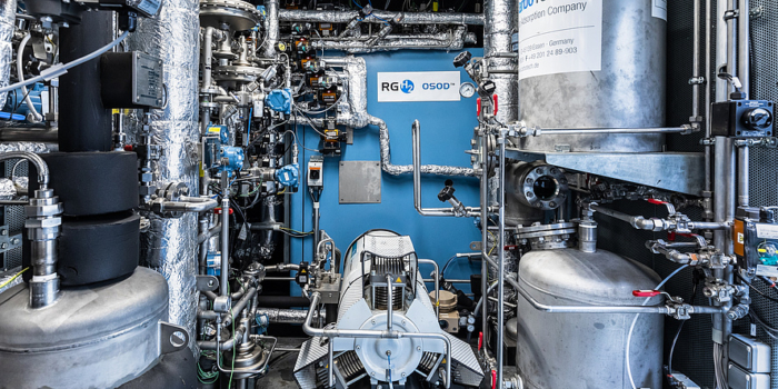 New process for high-purity hydrogen production