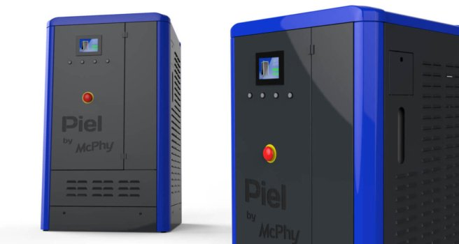 McPhy remotely installs hydrogen technology
