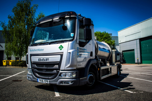Yorkshire Water deploys hydrogen tanker