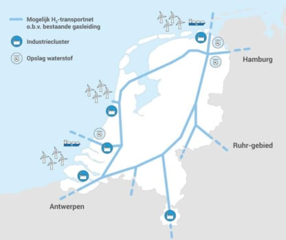 HyWay 27 investigating use of Dutch gas network to transport hydrogen