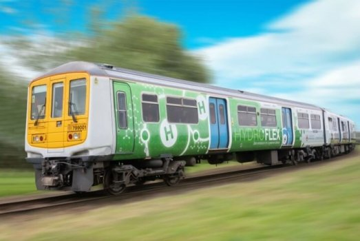 HydroFLEX secures funding for hydrogen-powered train design